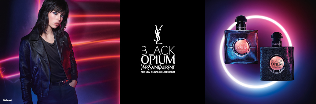 YVES SAINT LAURENT Black Opium Glowing eau de toilette per donna