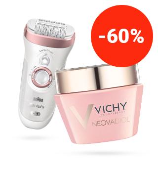 fino al -60% sui  migliori prodotti cosmetici