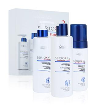 Set prodotti per capelli